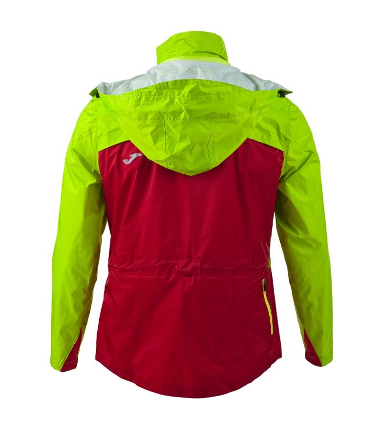 Joma RAINJACKET OLIMPIA III RED-GREEN