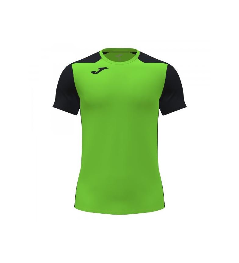 Comprar Joma  Record II Short Sleeve T-Shirt green, black