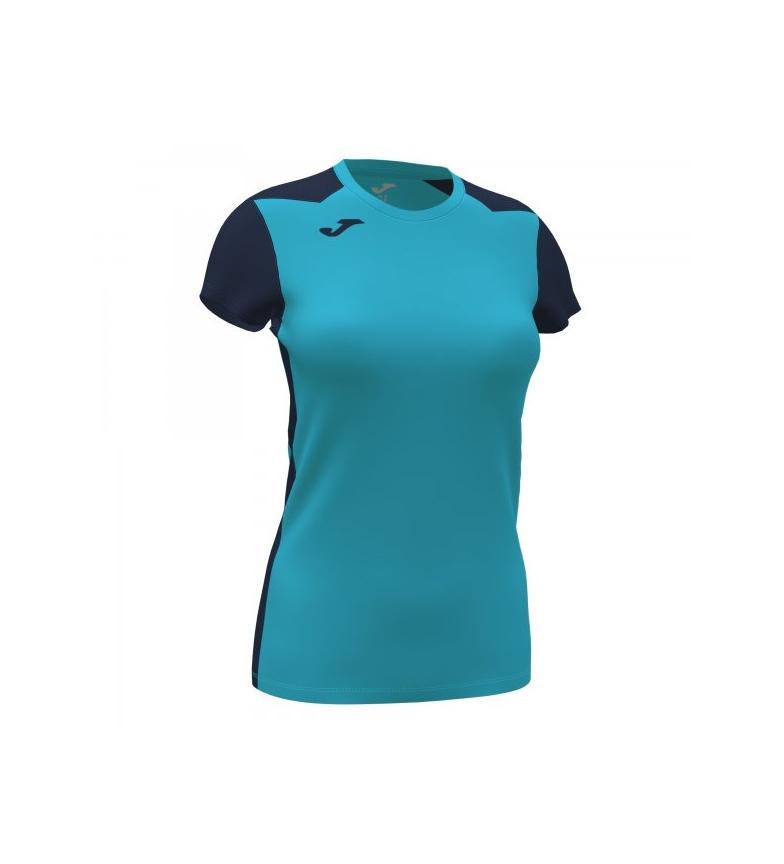 Comprar Joma  Camiseta Manga Corta Record II turquesa, marino