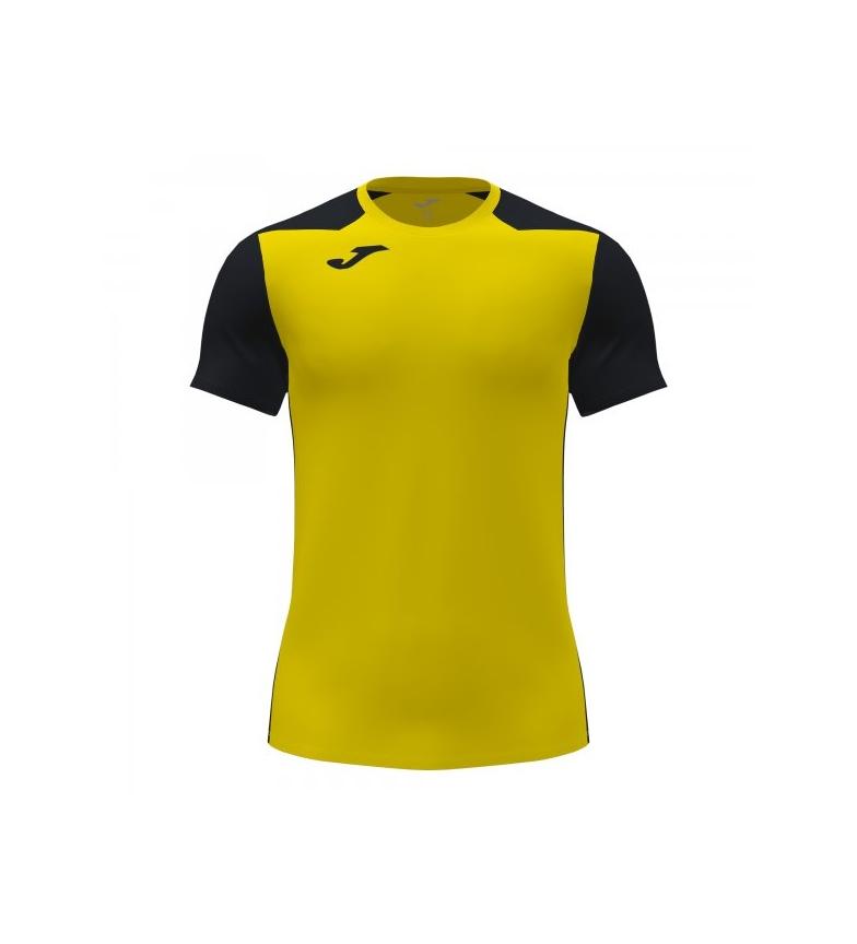 Comprar Joma  Record II Short Sleeve T-Shirt yellow, black