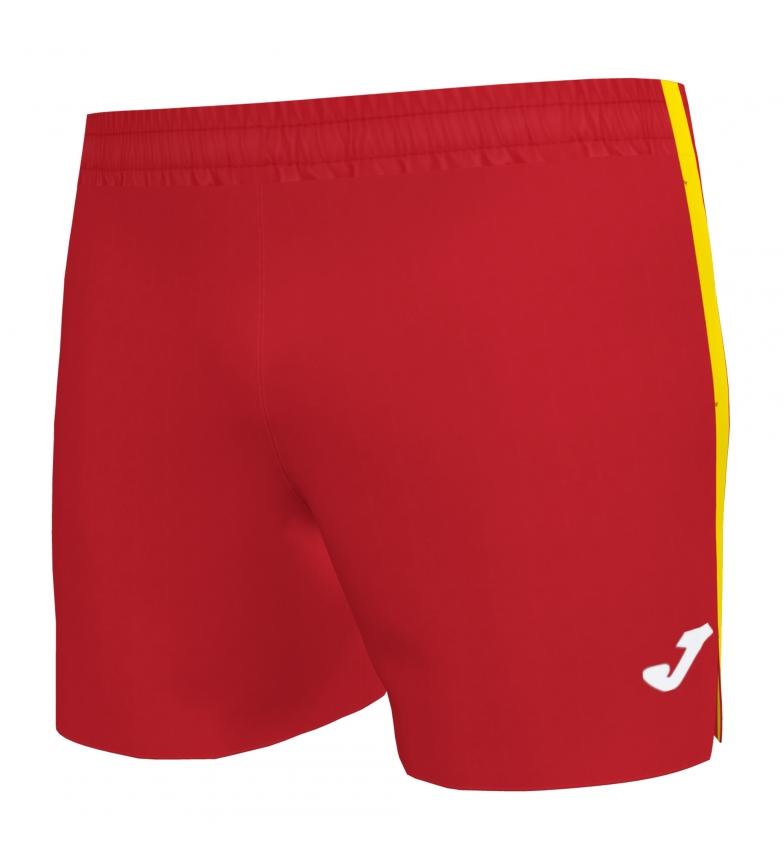 Comprar Joma  Short Micro Elite VII vermelho, amarelo