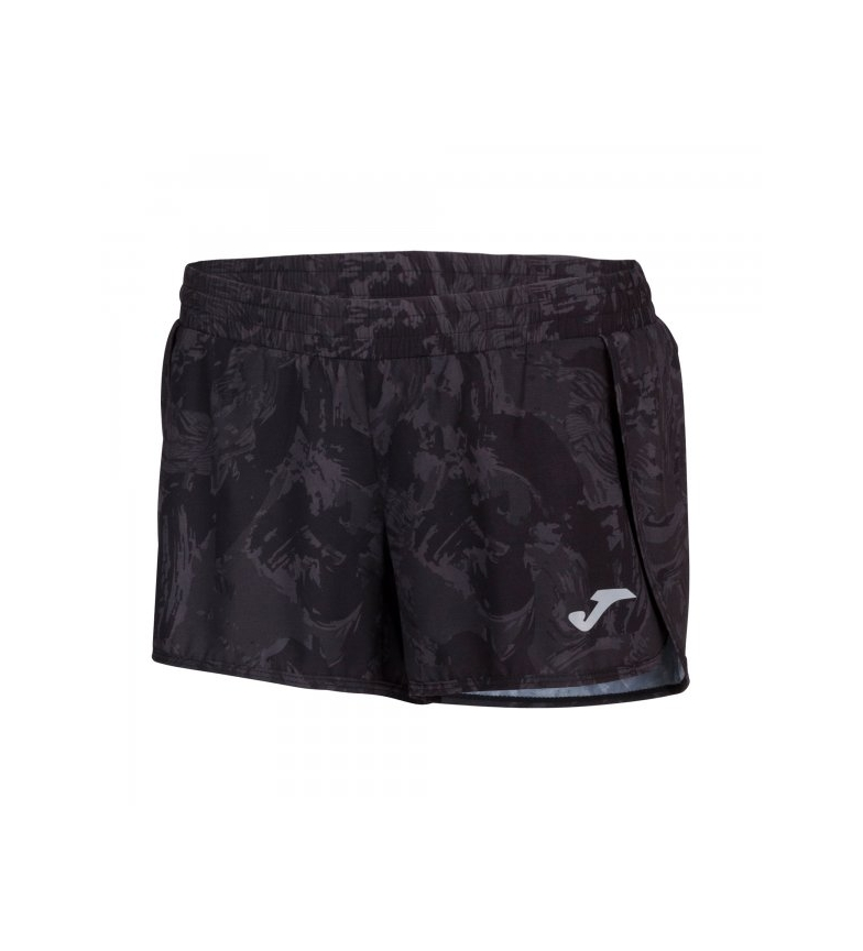 Comprar Joma  Selene print shorts black, anthracite