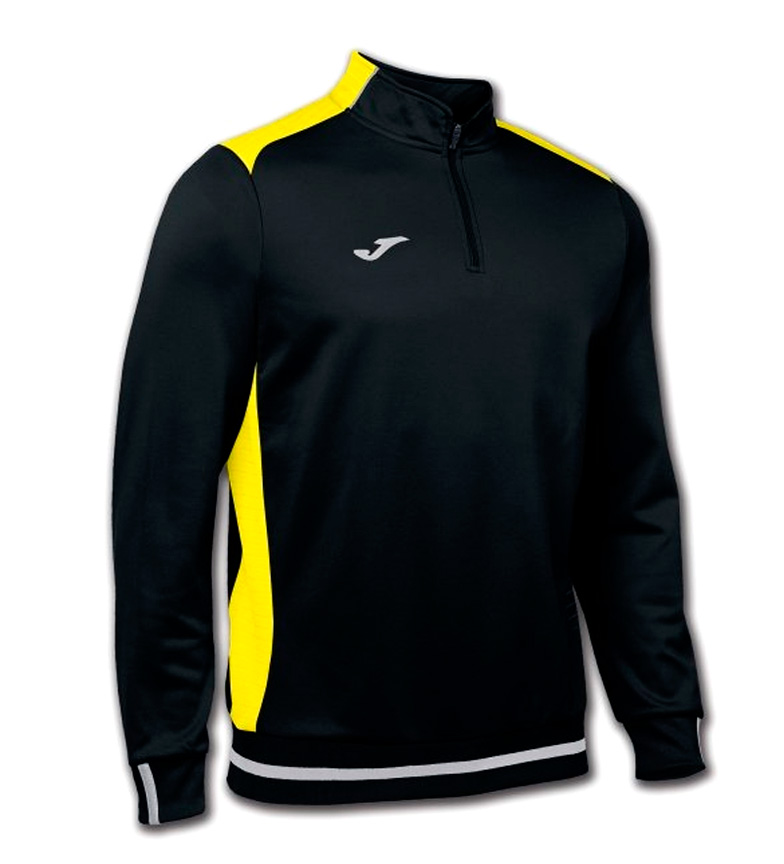 Comprar Joma  Campus II black and yellow sweatshirt