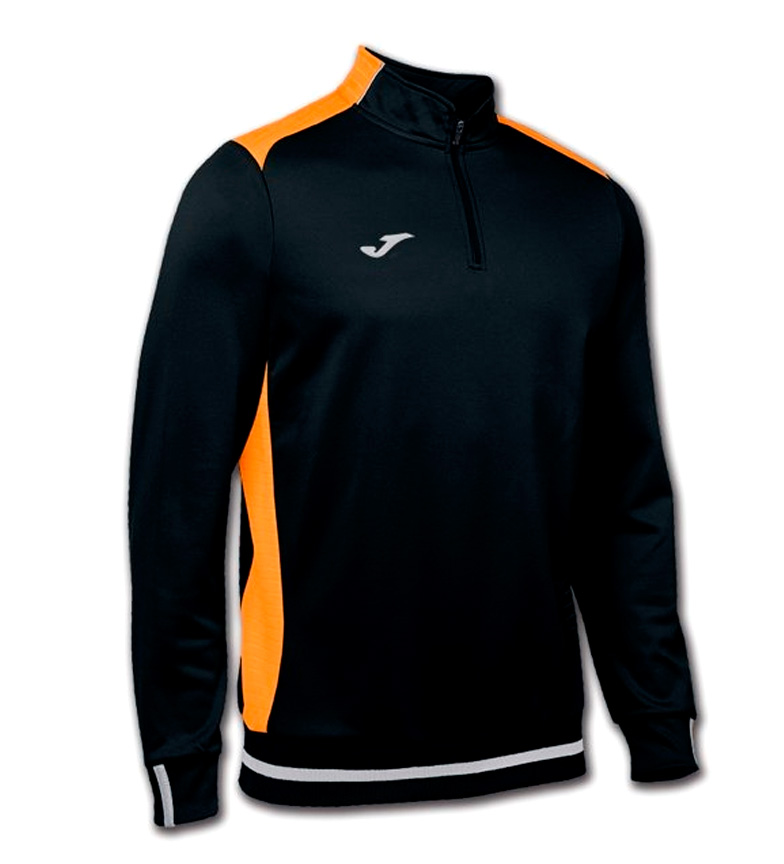 Comprar Joma  Campus II black, orange sweatshirt