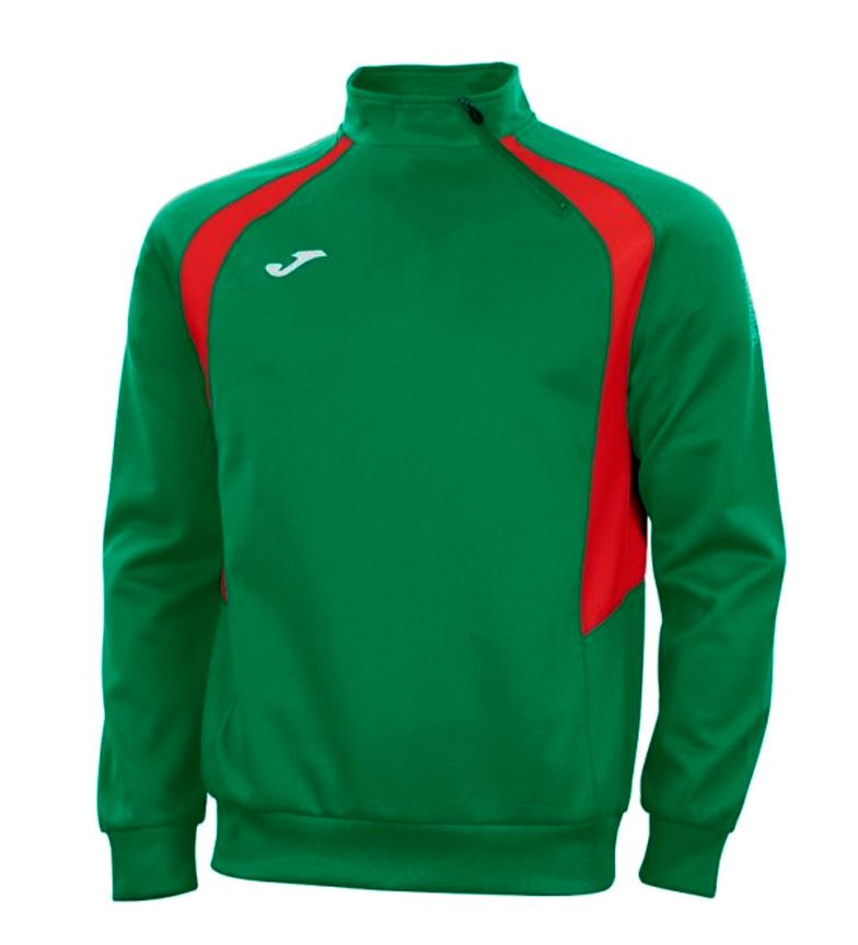 Comprar Joma  III Champion felpa verde, rosso