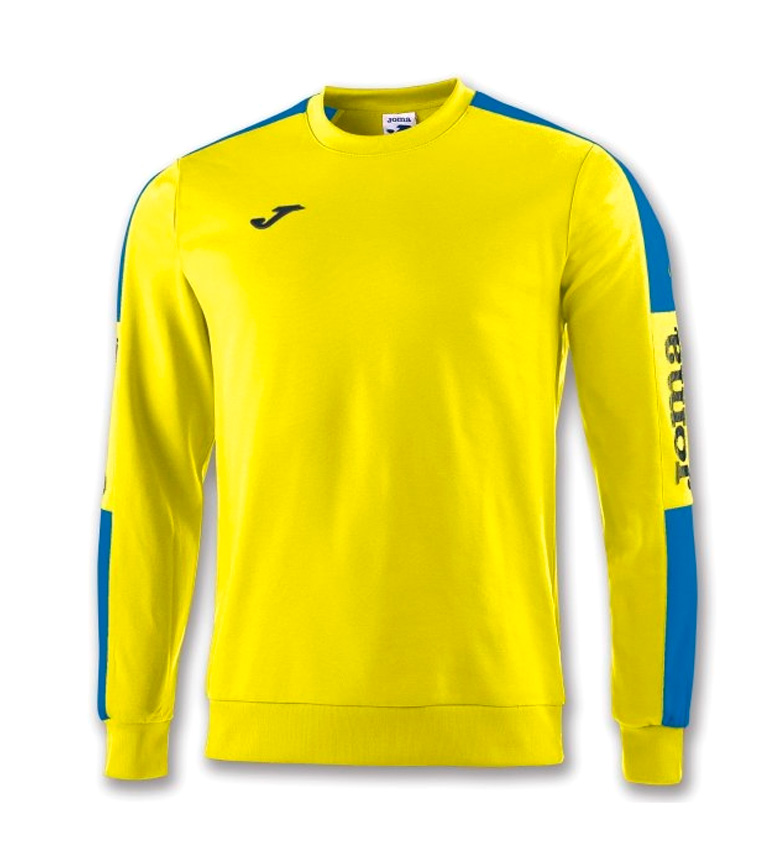 Comprar Joma  CHAMPION IV YELLOW-ROYAL SWEATSHIRT