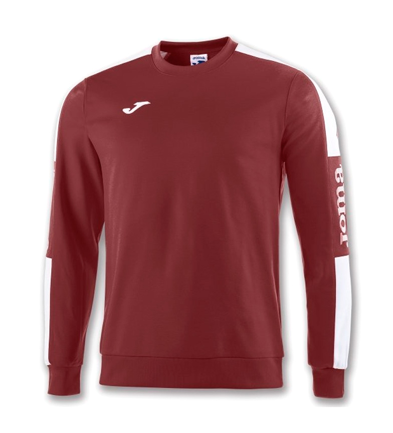 Comprar Joma  CHAMPION IV BORDEAUX-WHITE SWEATSHIRT