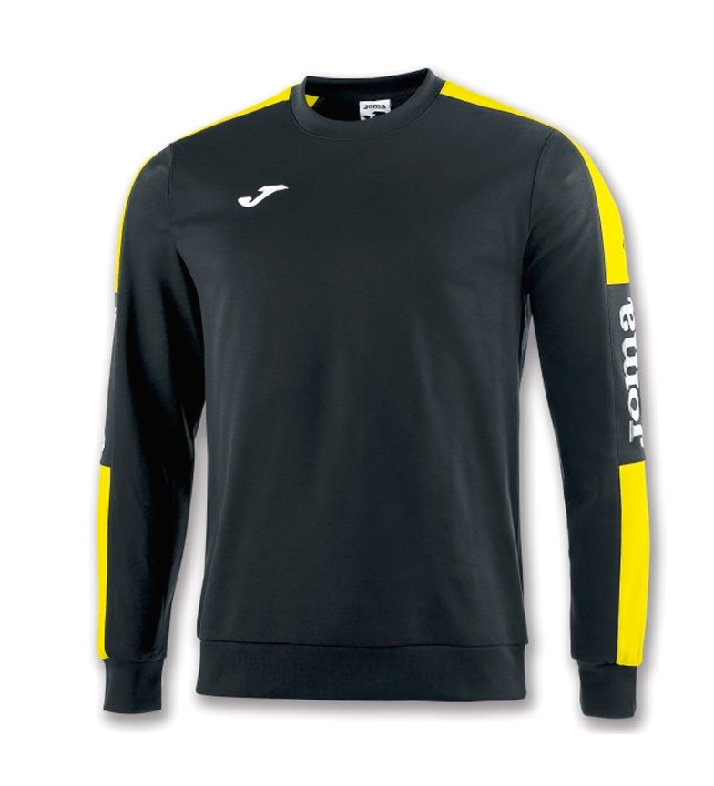 Comprar Joma  CHAMPION IV BLACK-YELLOW SWEATSHIRT