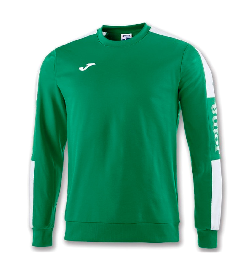 Comprar Joma  CHAMPION IV GREEN-WHITE SWEATSHIRT
