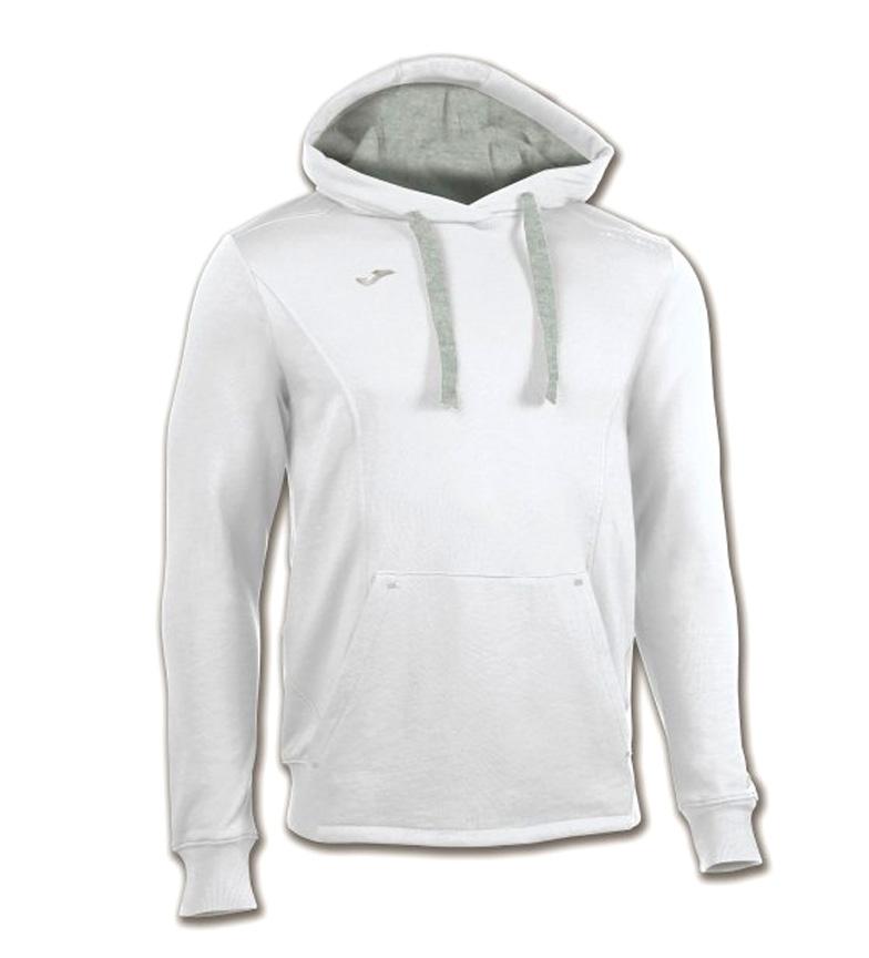 Joma Sudadera con capucha Comfort blanco