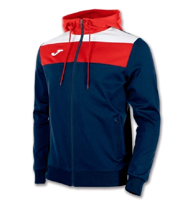 Comprar Joma  Sudadera con capucha Crew marino, rojo, blanco