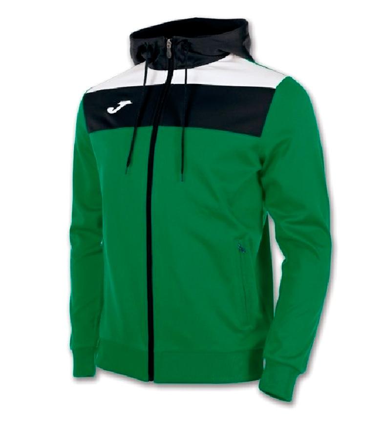 Comprar Joma  Sudadera con capucha Crew verde, negro, blanco