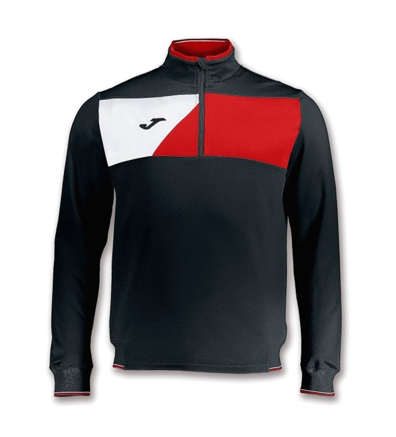 Comprar Joma  CREW II BLACK-RED SWEATSHIRT