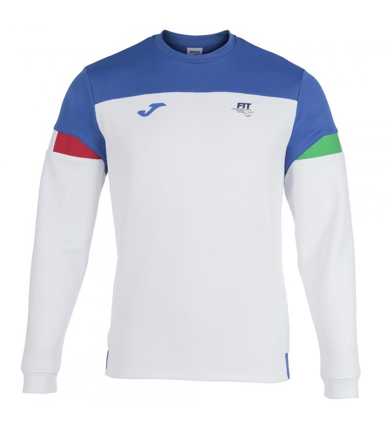 Comprar Joma  Sweatshirt Fed. Tennis Italie blanc