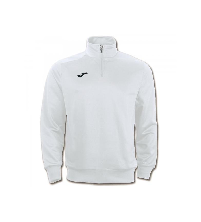 Comprar Joma  Faraon white sweatshirt. Half zipper