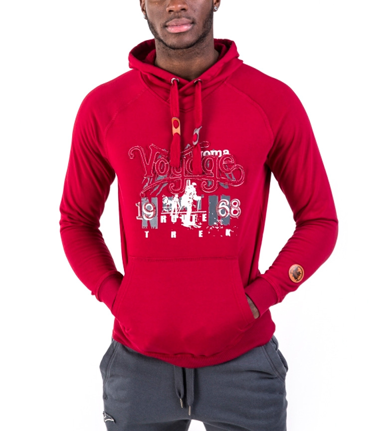 Joma SWEATSHIRT HOOD RED