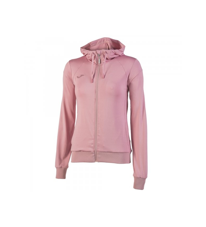 Comprar Joma  SWEATSHIRT HOODIE SCULPTURE LIGHT PINK WOMAN