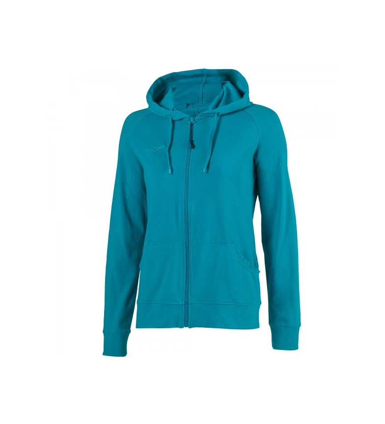 Joma Woman Turquoise Corinto Sweatshirt Zipper CBWodxeQr