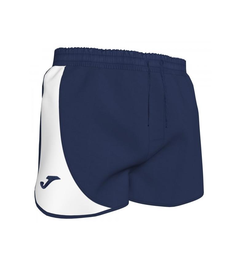 Comprar Joma  Pantaloncini da bagno corti blu scuro, bianchi