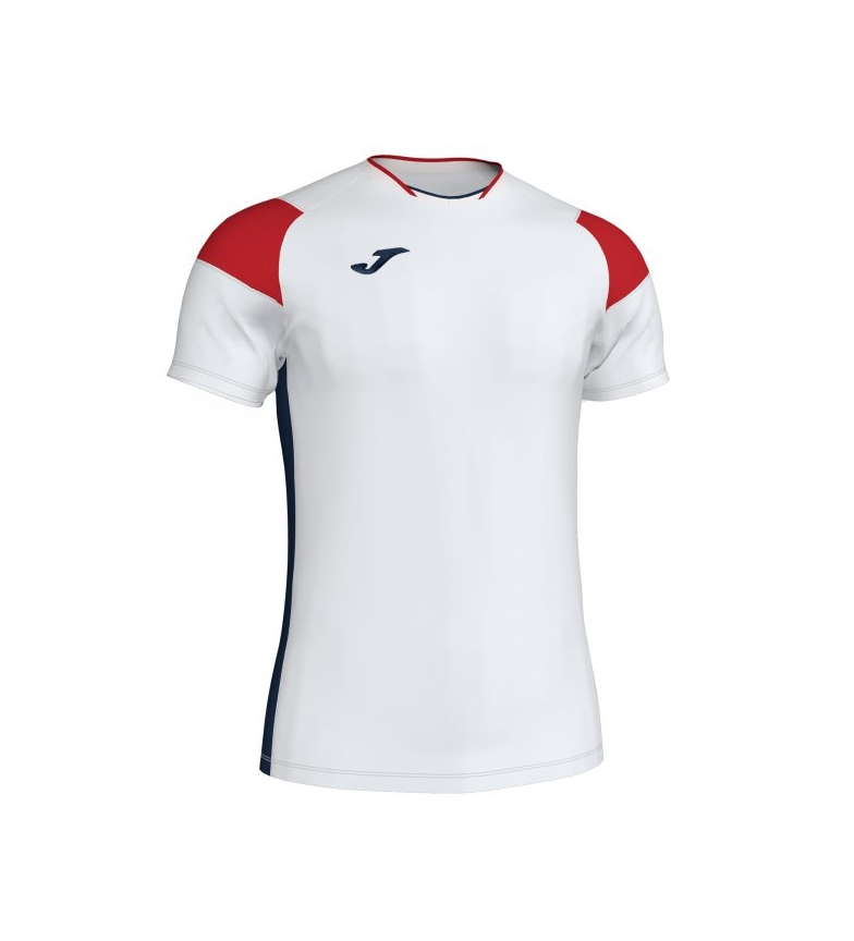 Comprar Joma  T-shirt Crew III blanc, rouge