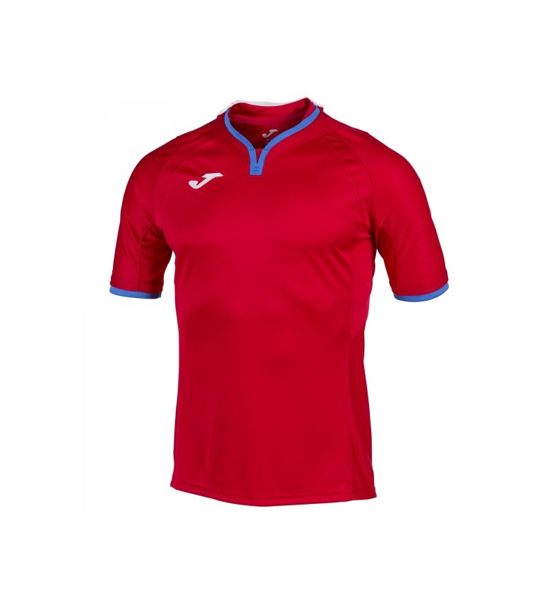 Joma T-SHIRT RED-ROYAL S/S