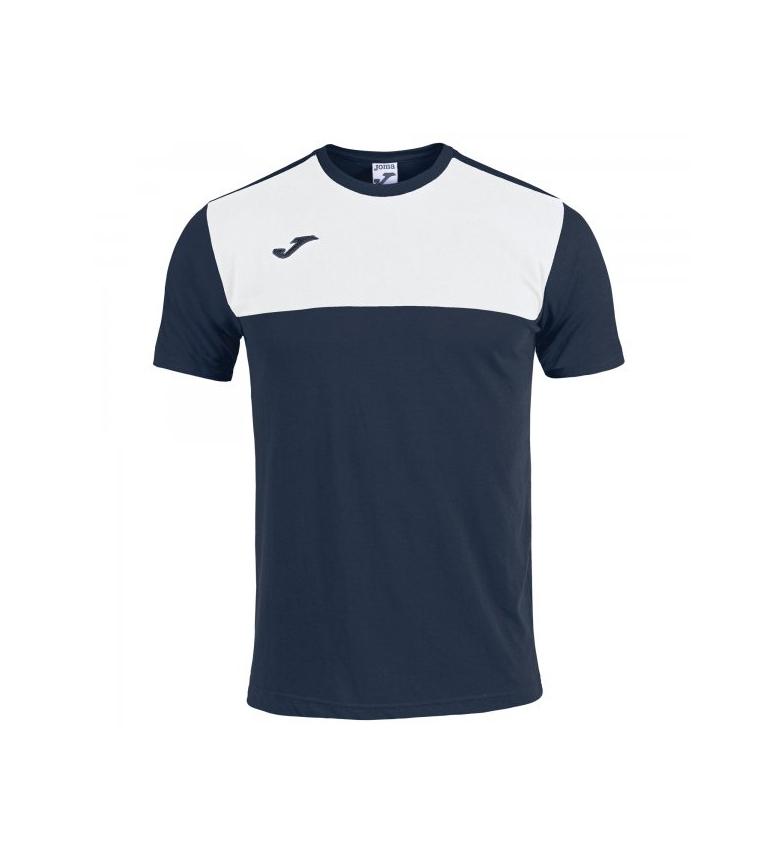Comprar Joma  T-shirt in cotone vincitore blu scuro, bianca