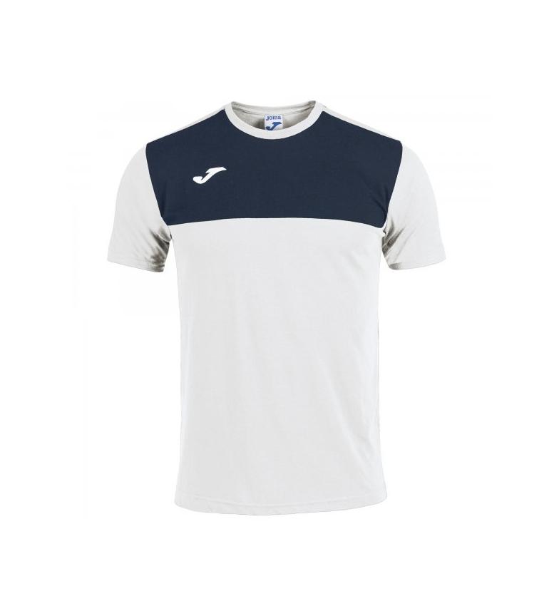 Comprar Joma  Camiseta Winner Cotton blanco, marino