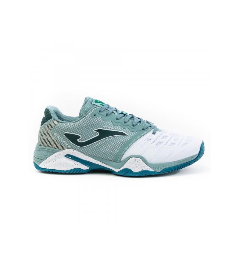Comprar Joma  T.Pro Roland 2015 Sapatos Clayd verde, branco