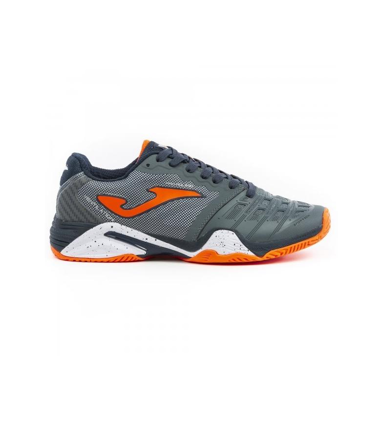Comprar Joma  Scarpe da tennis T.pro Roland 912 grigio, arancione tutto campo