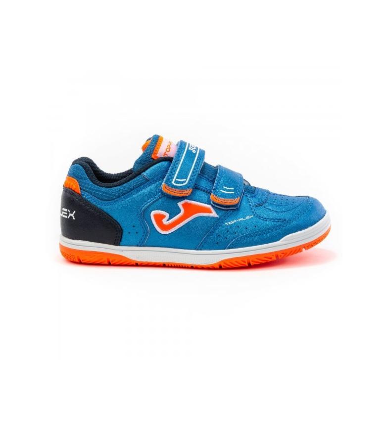 Comprar Joma  Top Flex Jr 2004 Sapatos de Velcro laranja, azul