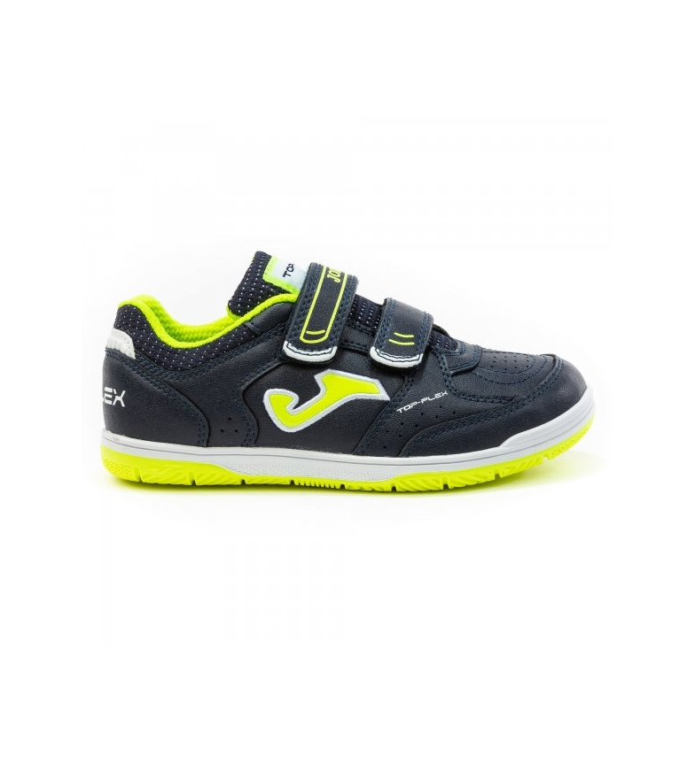 Comprar Joma  Top Flex Jr 2043 Marine Velcro Shoes, Fluor Yellow