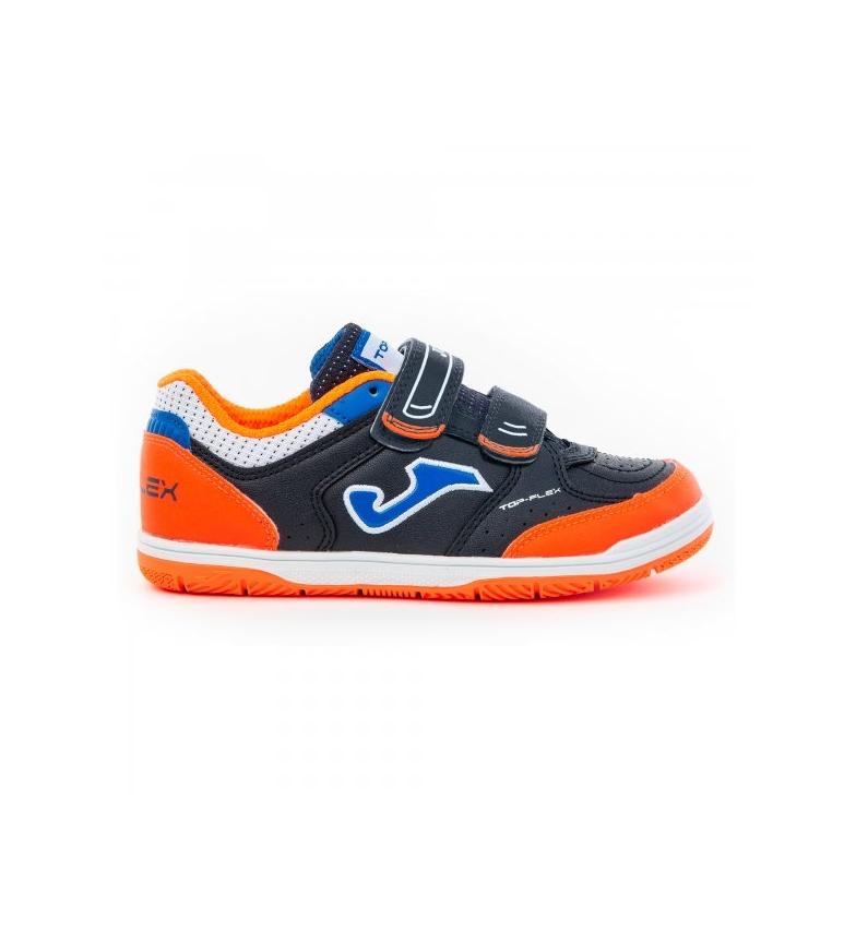 Comprar Joma  Zapatillas Indoor Top Flex Junior 2053 marino, naranja