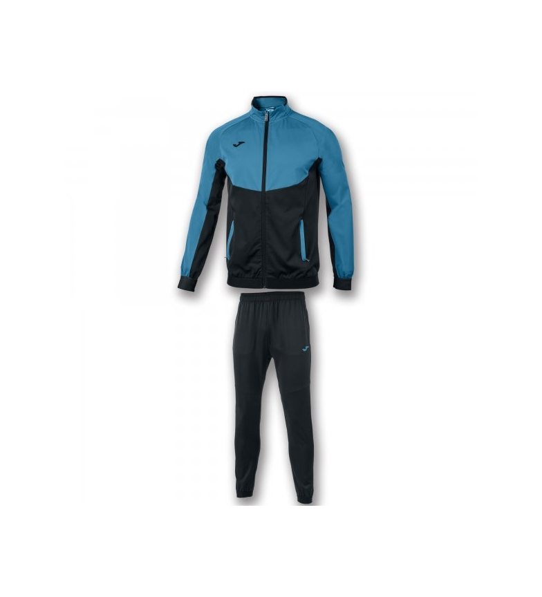 Micro Tracksuit Black Joma turquoise Essential nvm80ONw