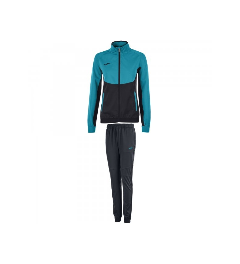 Comprar Joma  CHANDAL ESSENTIAL MICRO NEGRO-TURQ MUJER