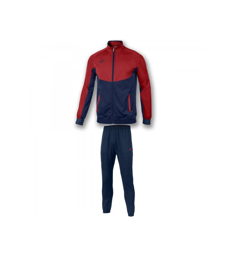 Comprar Joma  TRACKSUIT ESSENTIAL MICRO NAVY-RED