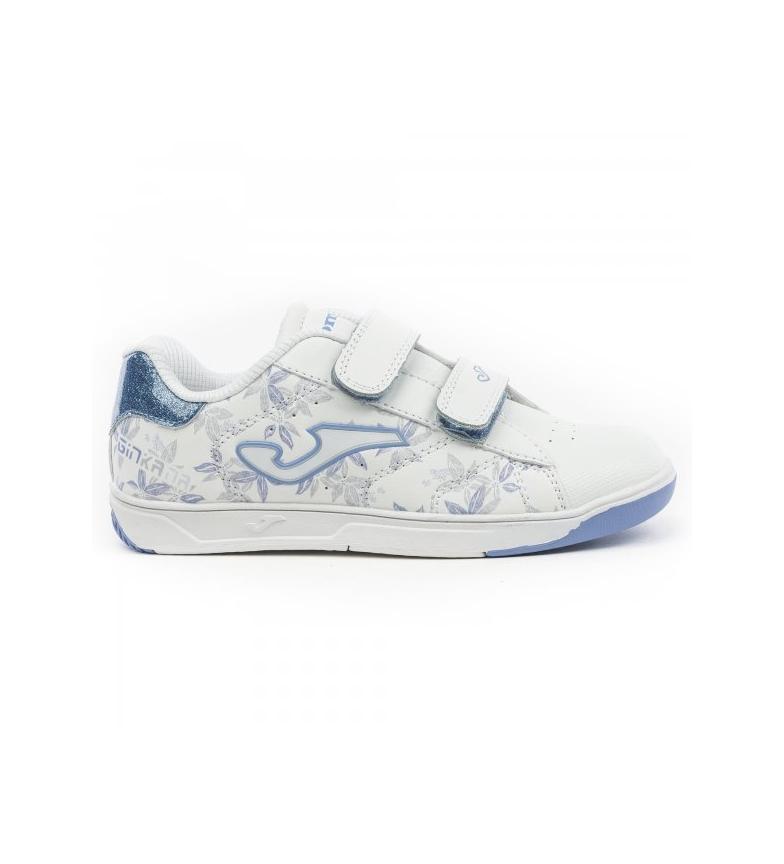 Comprar Joma  Chaussures Ginkana Jr blanc, bleu