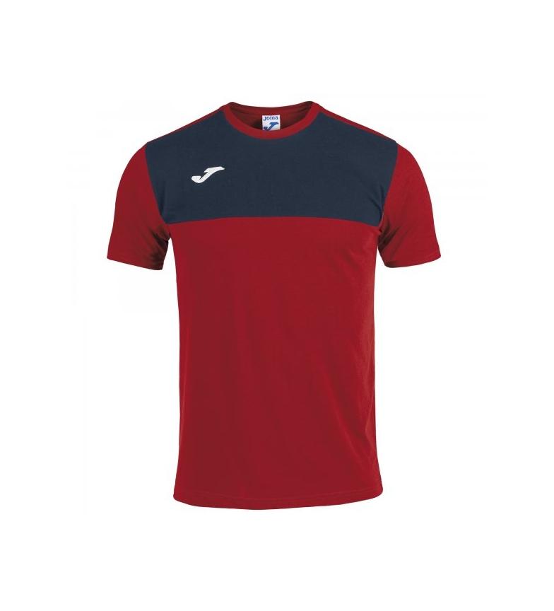 Comprar Joma  T-shirt vencedora da marinha, vermelha
