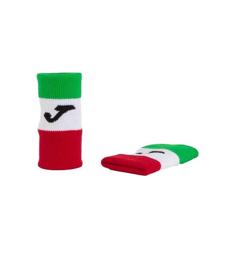 Comprar Joma  Braccialetti Federazione Italiana Tennis verde, bianco, rosso