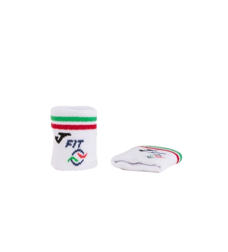 Comprar Joma  Braccialetti Federation Tennis Italia piccoli bianchi