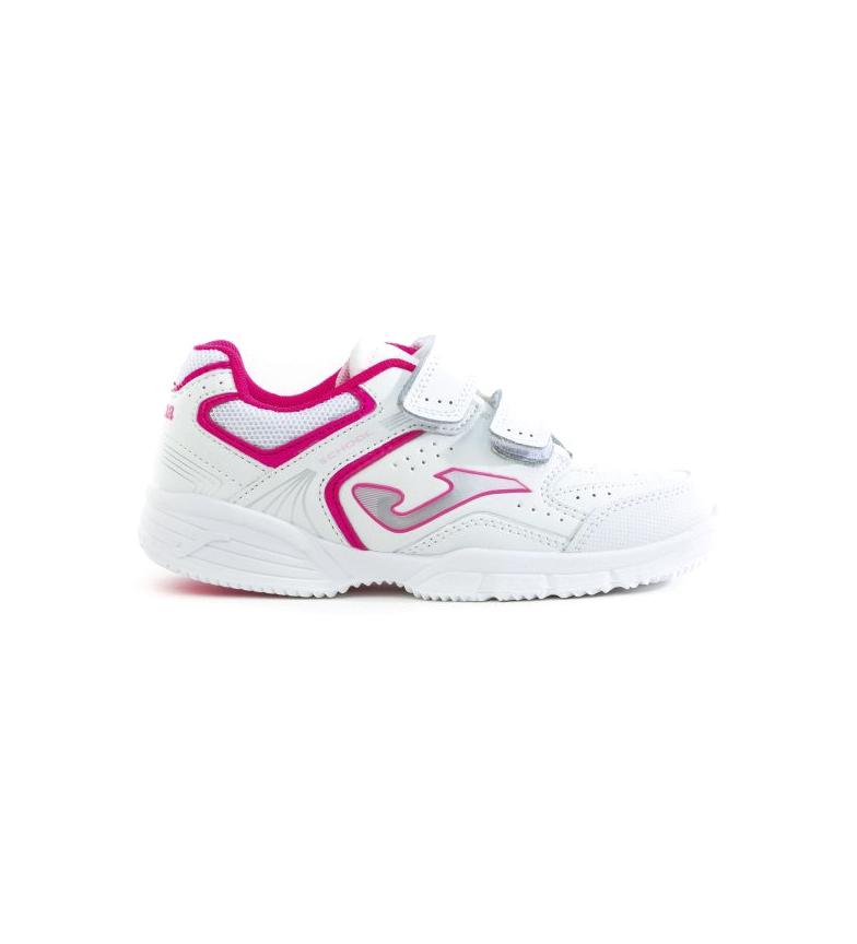 Comprar Joma  Chaussure en cuir School Junior 2032 blanche, fuchsia