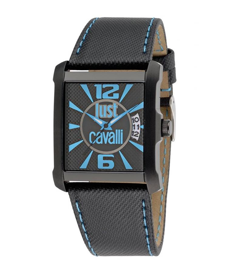 Comprar Just Cavalli Leather Analogic Watch R7251119001 Black