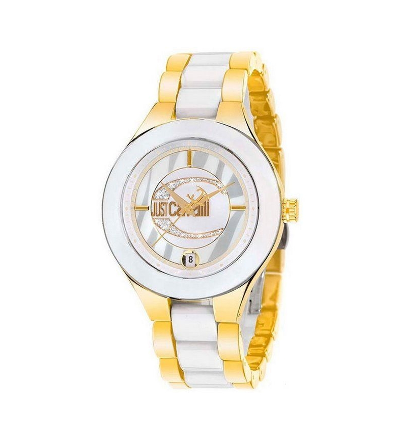 Comprar Just Cavalli Montre analogique R7253188645 Or, blanc