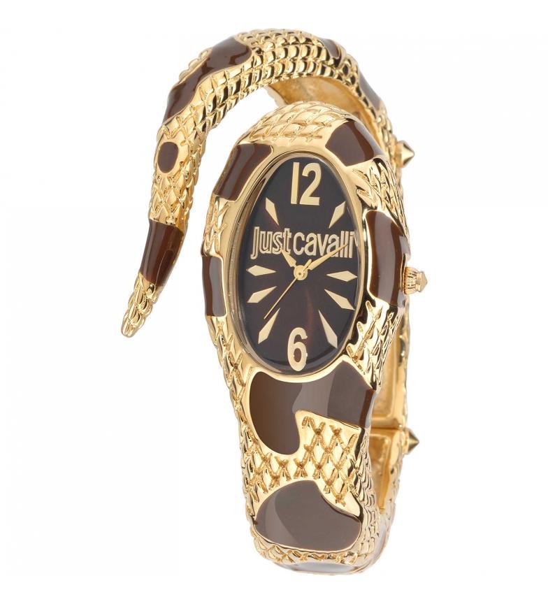 Comprar Just Cavalli Reloj Analogico R7253153514 Oro, Marron