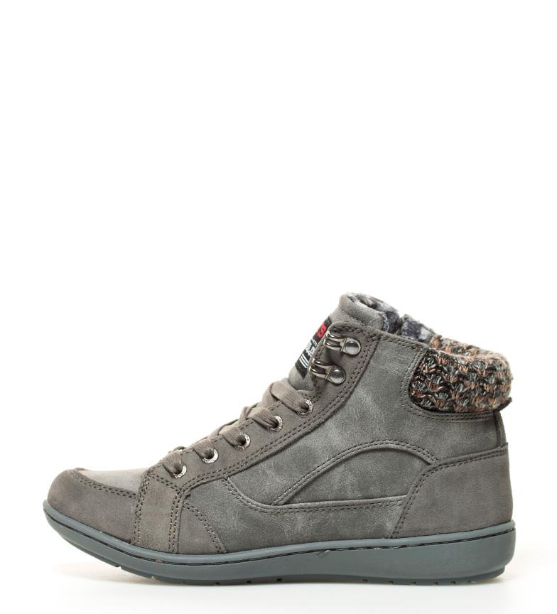 gris Kangaroos Zapatillas abotinadas gris Zapatillas Kangaroos abotinadas CqaTwP