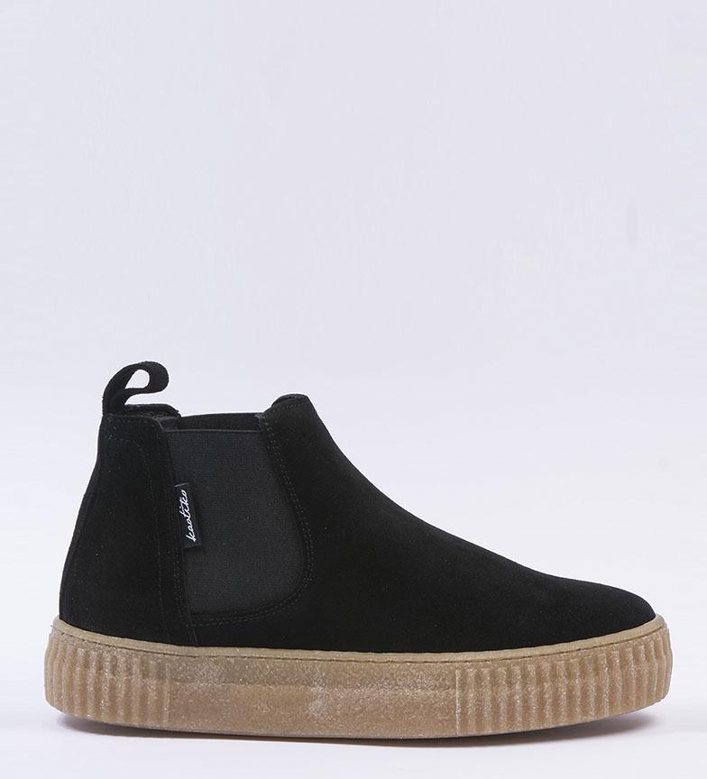 Comprar Kaotiko Stivali in pelle nera del Nilo