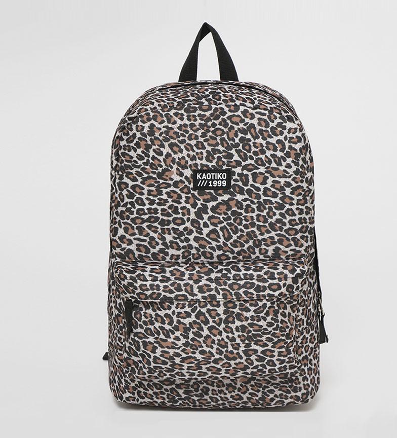 Comprar Kaotiko Basic backpack leopard -43x13x30cm