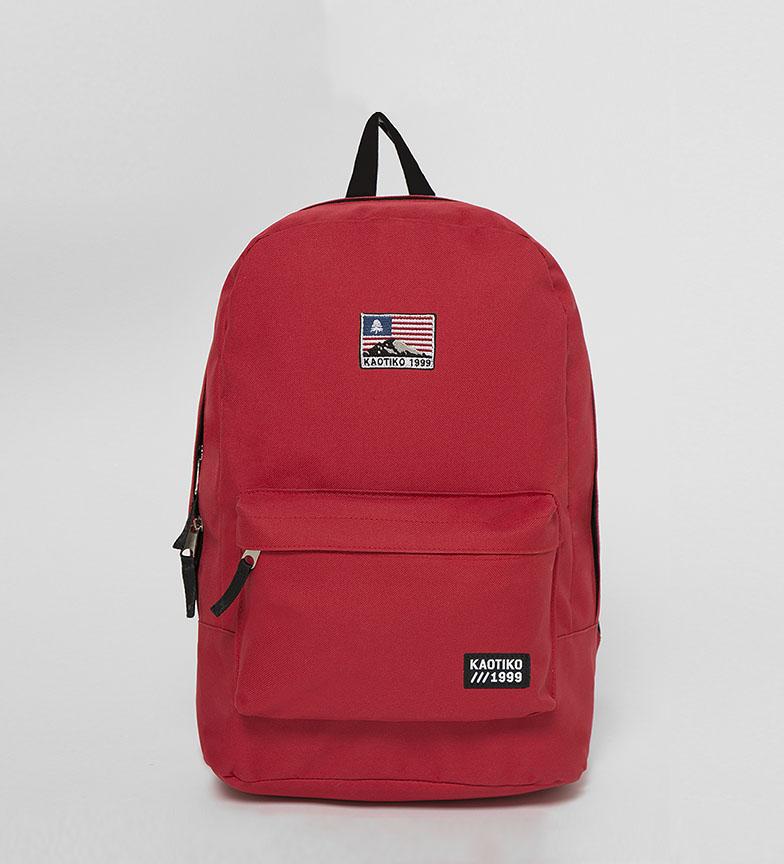 Comprar Kaotiko USA rucksack red -43x13x30cm