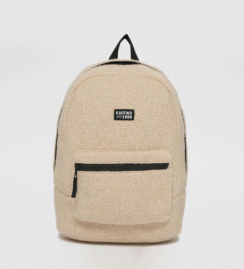 Comprar Kaotiko Basic backpack beige -43x13x30cm