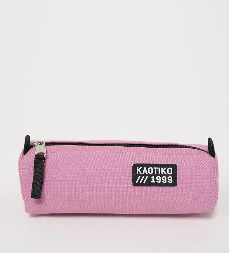 Comprar Kaotiko Estuche Basic rosa -21x8.5x6 cm-