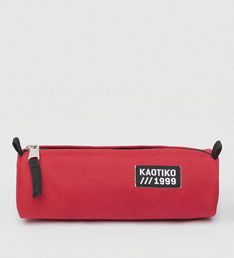 Comprar Kaotiko Estuche Basic rojo -21x8.5x6 cm-